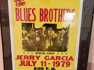 The Blues Brothers   and Jerry Garcia Add for Freedom Hall