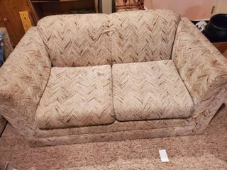 Vintage loveseat   No Stains  Pet Free
