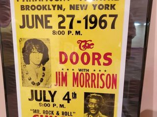 Jim Morrison and DOORS Add for Paramount Theatre