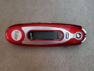 Red Trio Battery Operated USB MP3