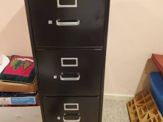 4 Drawer HON Filing Cabinet  CONTENTS NOT INClUDED
