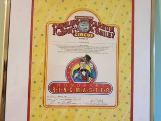 Kenneth Feld Greatest Show on Earth Ringlint Bros and Barnum and Bailey Circus  Honorary Ringmaster