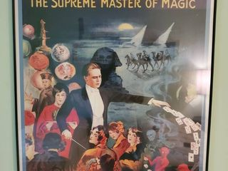 George The Supreme Master of Magic Framed Decor