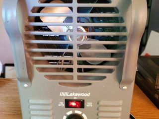 lakewood Model 792 JR Heater with Fan  Tested and Working
