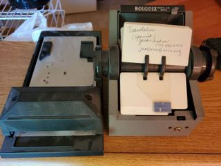 lot of 2  Rolodex and Adreesograph