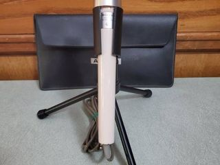 Vintage Sony Cardioid Microphone with Stand