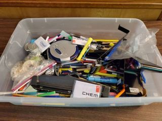 Mega lot of Pens Markers and Office Supplies