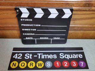 Studio Director Sign and Time Square Metal Sign