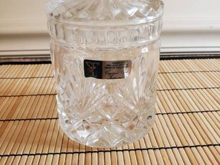 Crystal Clear Industries lead Crystal Biscuit Candy Dish