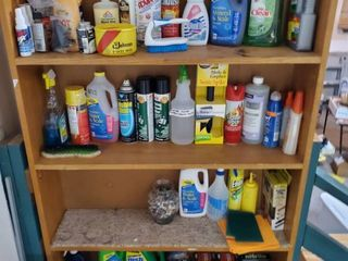 lot of Cleaning and Auto Supplies