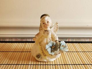 Vintage Birthday of the Month Angel September