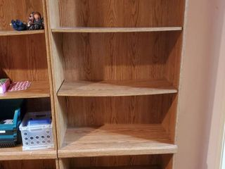 laminate Book Shelf  CONTENTS ARE NOT INClUDED
