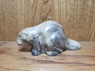 Marble Carved Beaver
