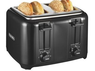 Proctor Silex 4 Slice Extra Wide Slot Toaster with Cool Wall