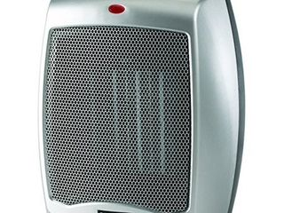 lasko Ceramic Portable Space Heater  Silver 754200