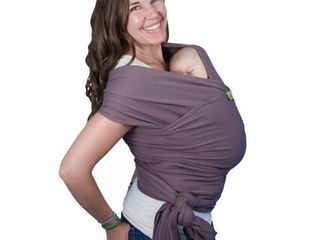 Boba Wrap Baby Carrier  Dark Grey Organic