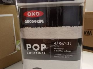 NEW OXO Good Grips POP Container   Airtight Food Storage   4 4 Qt for Flour and More