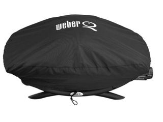 Weber 7111 Grill Cover for Q 200 2000 Series Gas Grills Black
