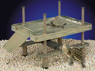 Penn Plax Reptology Floating Turtle Pier and Basking Platform