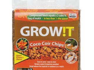 Hydrofarm Plant t JSCC2 Organic Coco Coir Planting Chips for Plants