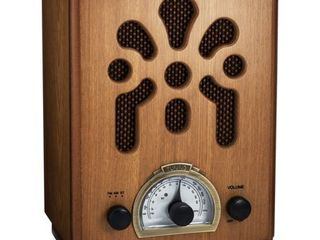 ClearClick Classic Vintage Retro Style AM FM Radio with Bluetooth