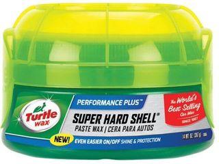 Turtle Wax T 223 Super Hard Shell Paste Wax   9 5 oz