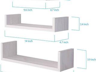 SRIWATANA Floating Shelves Wall Mounted