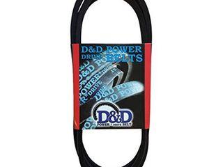 D D PowerDrive B66 5l690 V Belt  5 8  x 69  OC  B 5l  Rubber