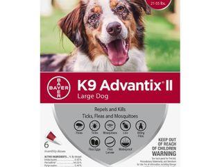 Bayer K9 Advantix II Flea  Tick and Mosquito Prevention