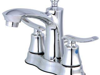 Kingston Brass FB7611Jl Jamestown 4 inch Centerset lavatory Faucet  Chrome
