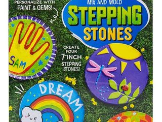 Made By Me Mix   Mold Your Own Stepping Stones
