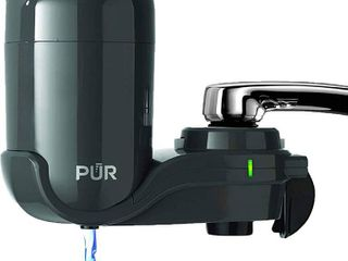 PUR Classic Faucet Mount Filter  Small  Grey