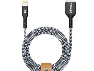 Zendure Supercord MFI Certified Cable  3ft 100cm 1m