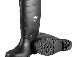 Tingley 31151 Economy SZ13 Kneed Boot for Agriculture  15 Inch  Black
