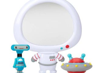 Nuby Awesome Astronaut Mirror 3 Piece Interactive Baby Bath Toy Set