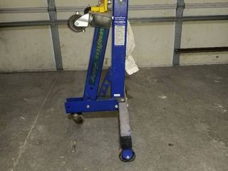 4 wheel folding engine stand