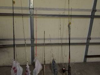 misc  fishing poles