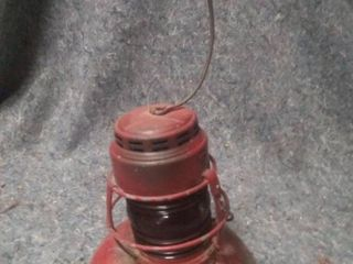 Vintage No 40 Traffic Gard Oil lantern by Embury Mfg