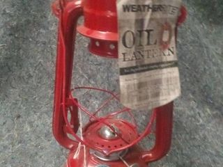 Weather Rite Oil lantern