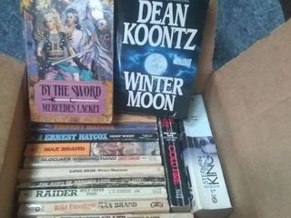 Box of Fiction Books