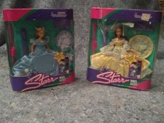 2 Barbie Star Model Agency Fashion Doll