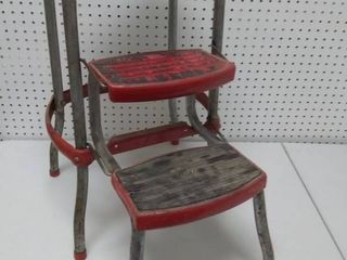 Vintage Cosco Folding Step Stool
