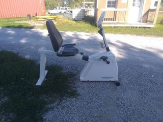 Used Vision Fitness R2000 elliptical exercise machine
