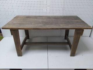 Vintage Rustic Wooden Coffee Table or Bench