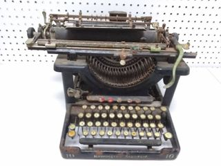 Vintage Remington Standard 10 Typewriter