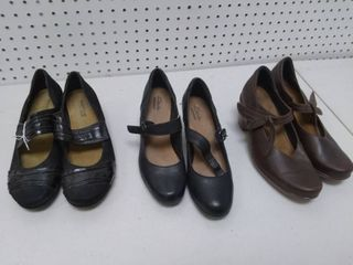 Three Pairs of Women s Shoes