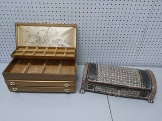 Vintage Jewelry Box and Decorative Box