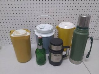 lot of Drink Containers