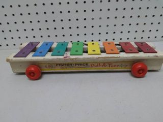 Vintage Fisher Price Pull a Tune Toy