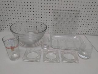Decorative Glassware lot